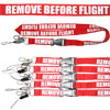 Remove Before Flight - Lanyards - 5pcs
