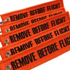 Remove Before Flight Keychain - Orange - 5pcs