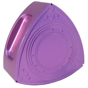 Aluminum Rotor Oil Cap - Anodized Purple